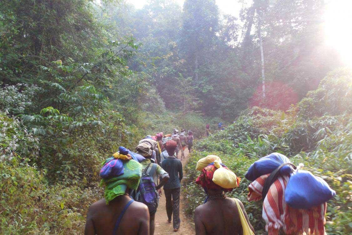 The Holy Trek - Erumeli Route to Sannidhanam